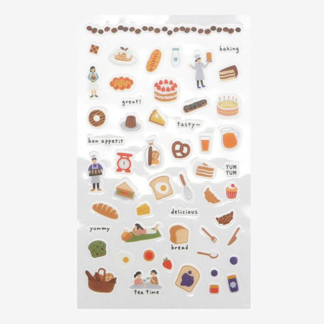 Daily transparent sticker - Bakery