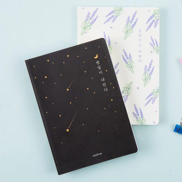 Ardium Write your ideas soft medium lined notebook