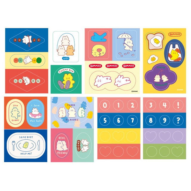 ROMANE Gummies decoration sticker pack