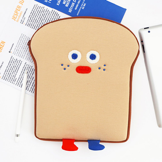 ROMANE Brunch brother toast tablet PC iPad 11inches zip pouch