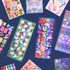 Second Mansion Hologram confetti removable sticker seal 07-18