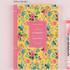 Yellow garden - 2017 Flower pattern weekly dated journal