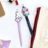 05 & 06 - Romane Hello Korea black gel pen set 0.38mm