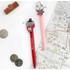 01 & 02 - Romane Hello Korea black gel pen set 0.38mm