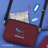 Dachshund - Tailorbird pastel side crossbody bag
