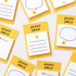 2NUL Smile sticky it memo notes notepad
