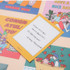 Example of use - Ardium Pop illustration message card envelope set