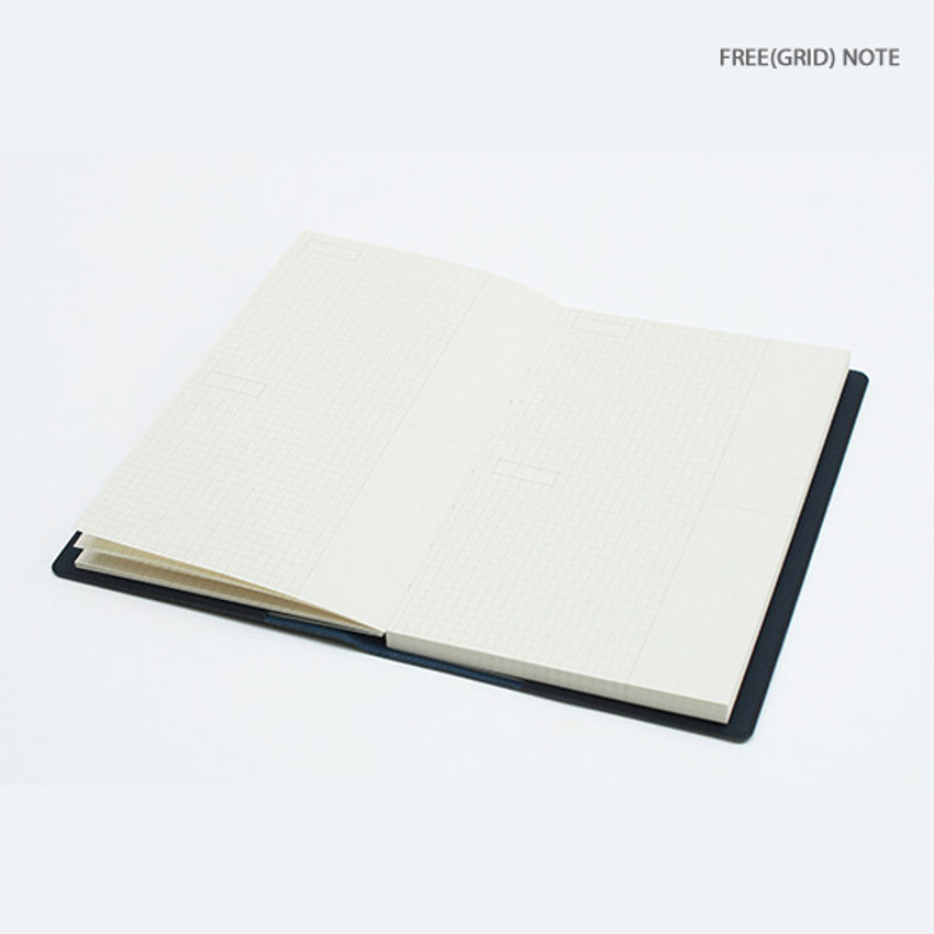 Grid note - Bookfriends ABC small grid notebook