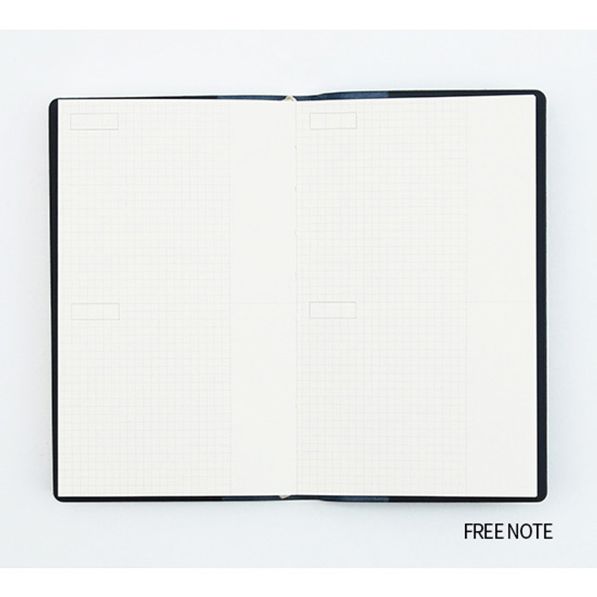 Free(Grid) note - Bookfriends ABC small grid notebook