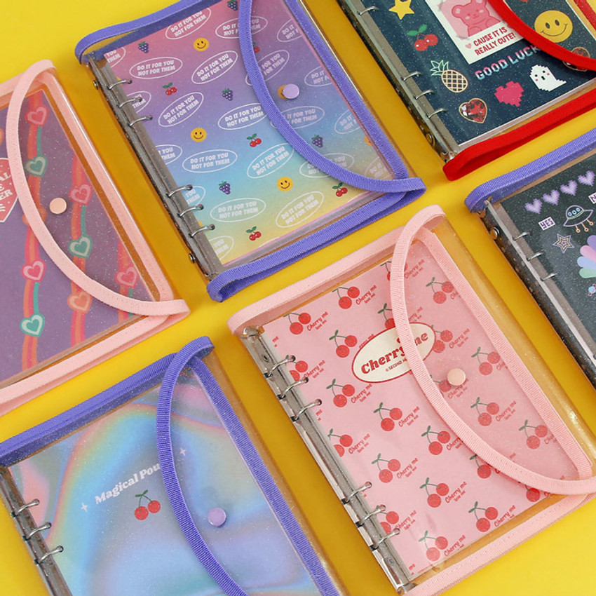 Second Mansion Retro A5 6-ring dateless weekly diary planner