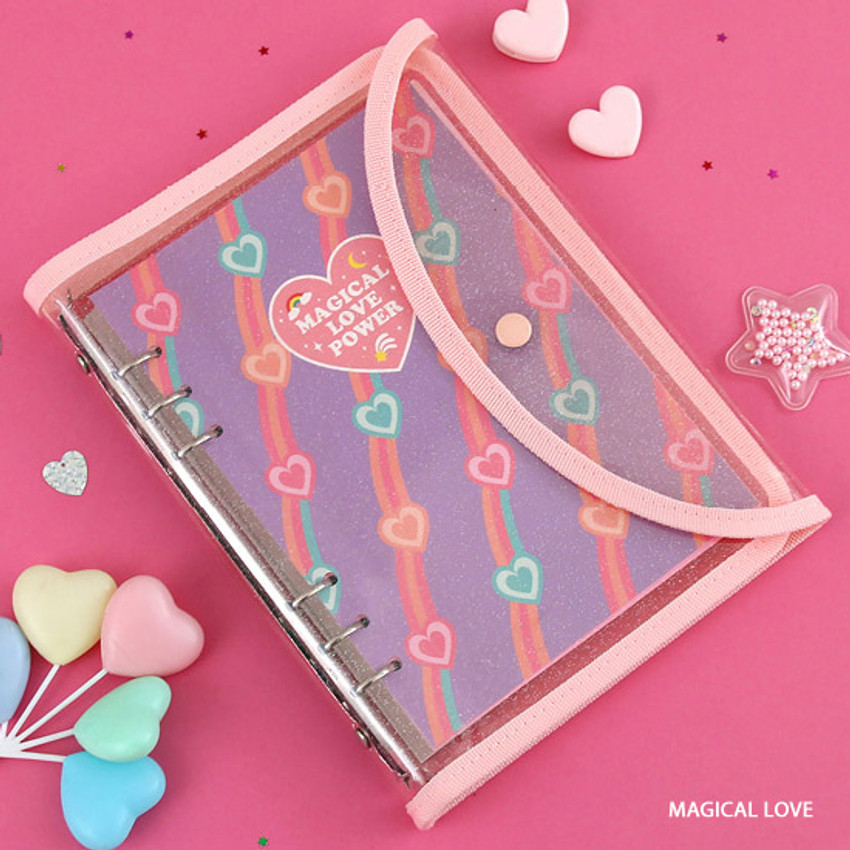 Magical love - Second Mansion Retro A5 6-ring dateless weekly diary planner