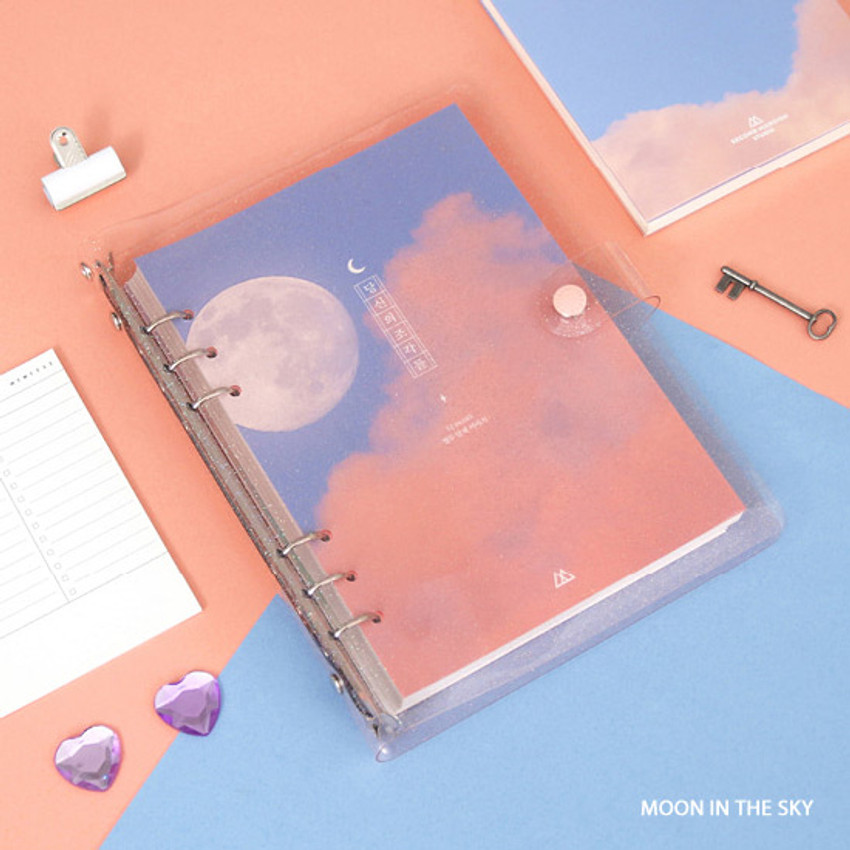 Moon in the sky - Second Mansion Piece of You A5 6-ring dateless weekly diary