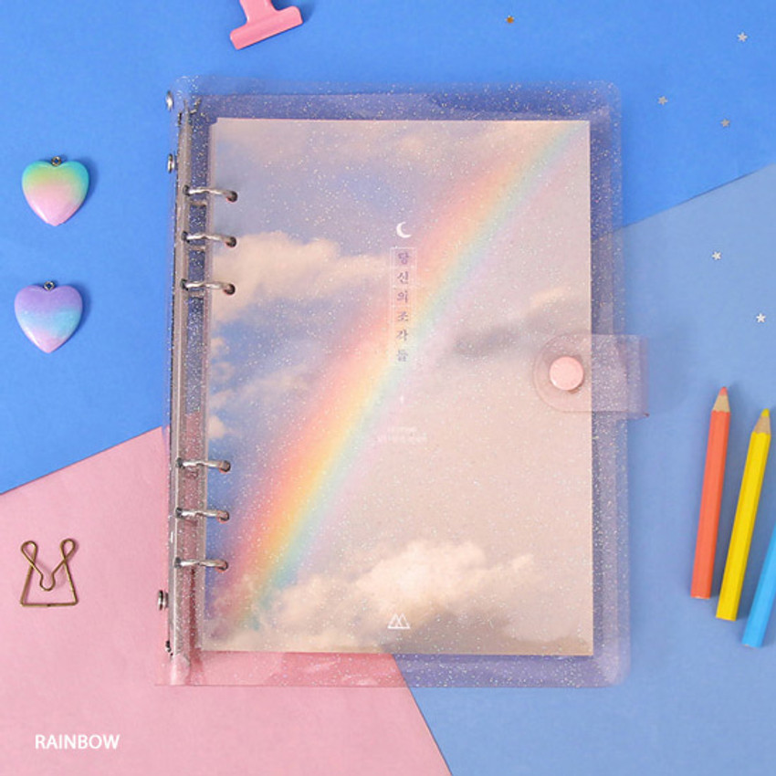 Rainbow - Second Mansion Piece of You A5 6-ring dateless weekly diary