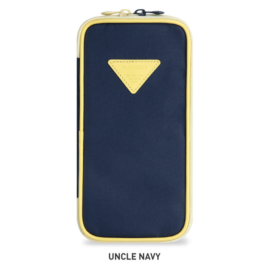 Uncle Navy - Monopoly P pocket zipper pencil case pouch