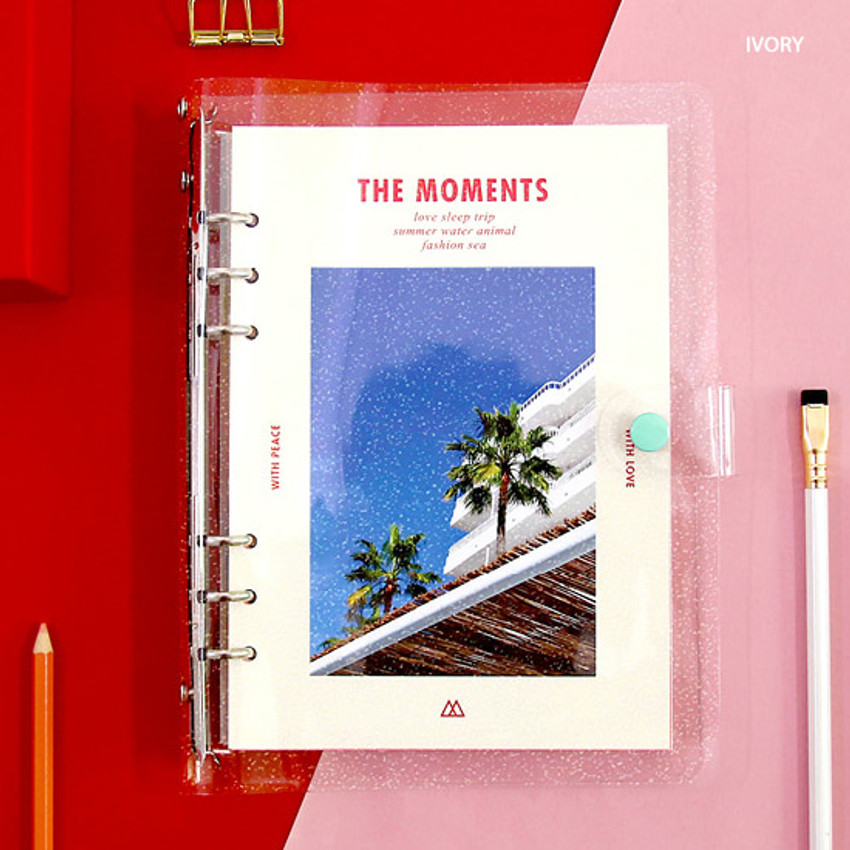 Ivory - Second Mansion Moment A5 6ring dateless weekly diary planner