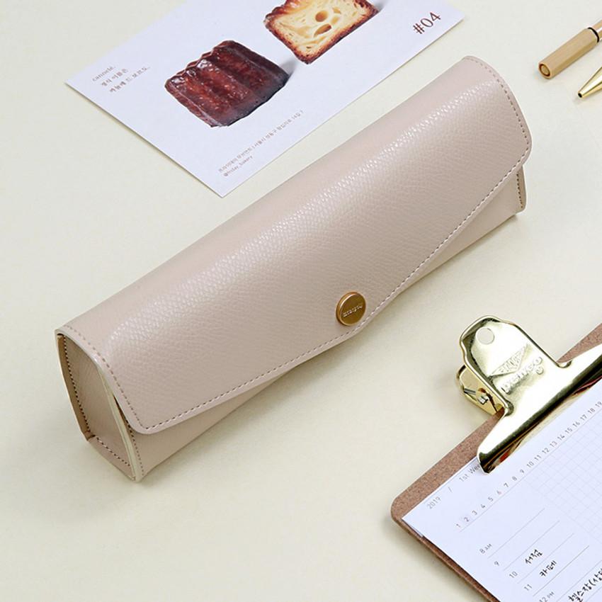 Monopoly Classy snap button pocket pencil case pouch