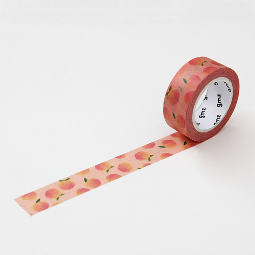 Peach - GMZ Lovable pattern paper deco masking tape