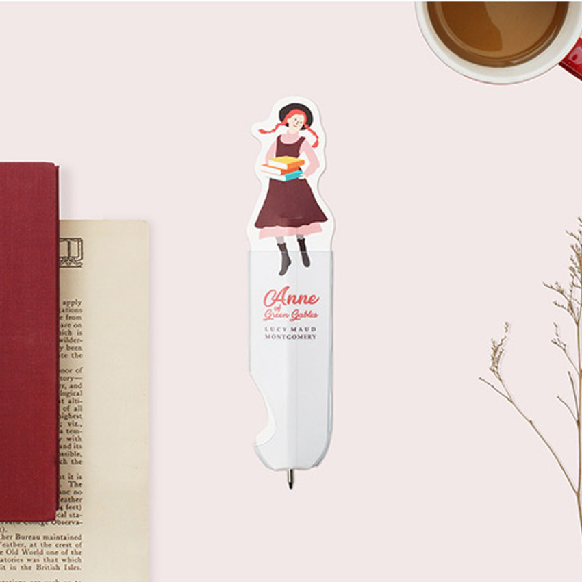 Bookfriends Anne of green gables flat bookmark ballpoint pen