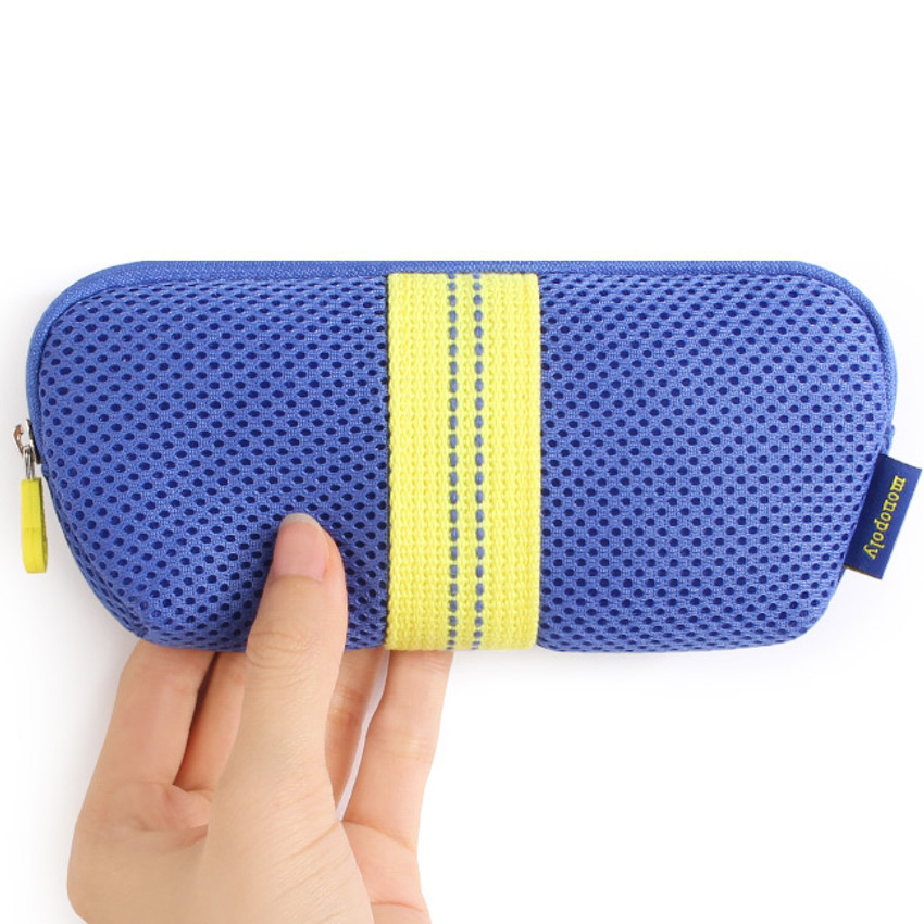 Monopoly Air mesh glasses zipper pouch bag