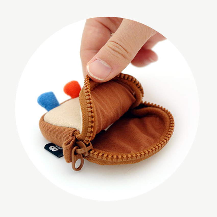 Zipper pouch - ROMANE Brunch brother AirPods zipper pouch bag