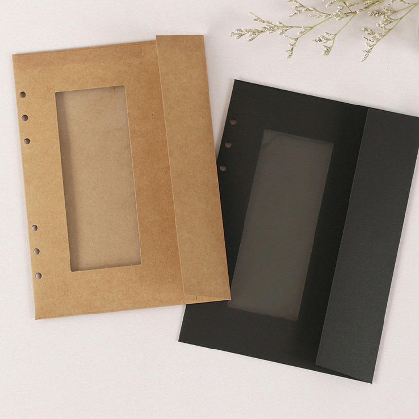 PAPERIAN Window paper envelope 6-ring A5 size refill