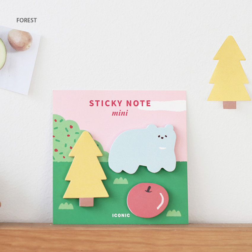 Forest - Iconic Mini buddy sticky note memo set