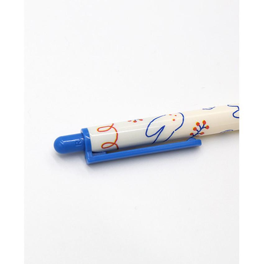 ROMANE Brunch brother print 0.38mm black ballpoint pen