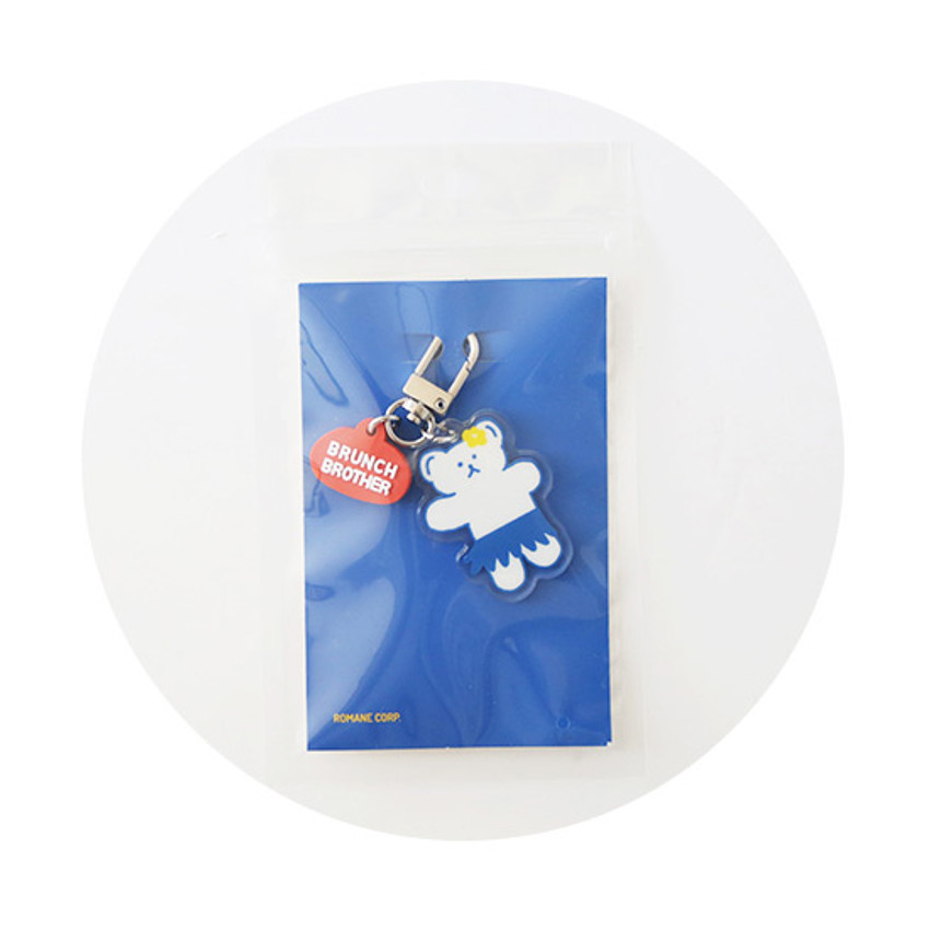 Package - ROMANE Brunch Brother Donat Donat Acrylic keyring keychain