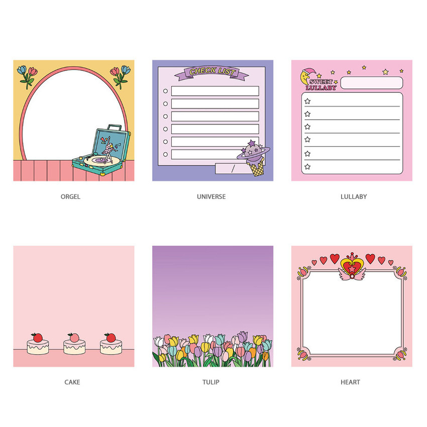 Option - Ardium Color point memo notes notepad 100 sheets
