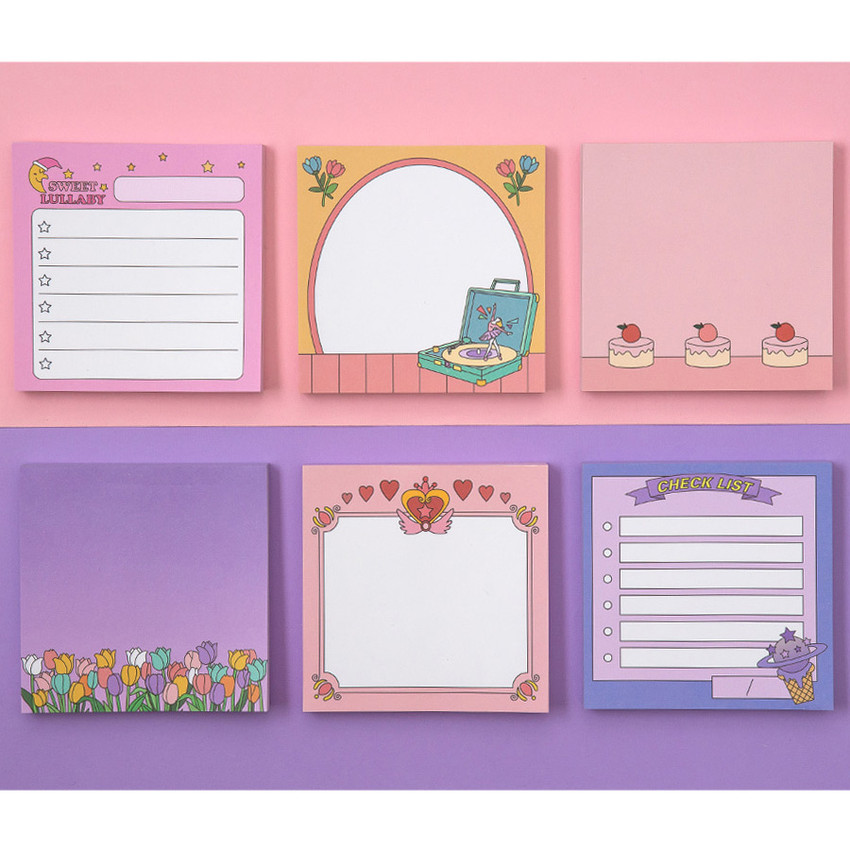 Ardium Color point memo notes notepad 100 sheets