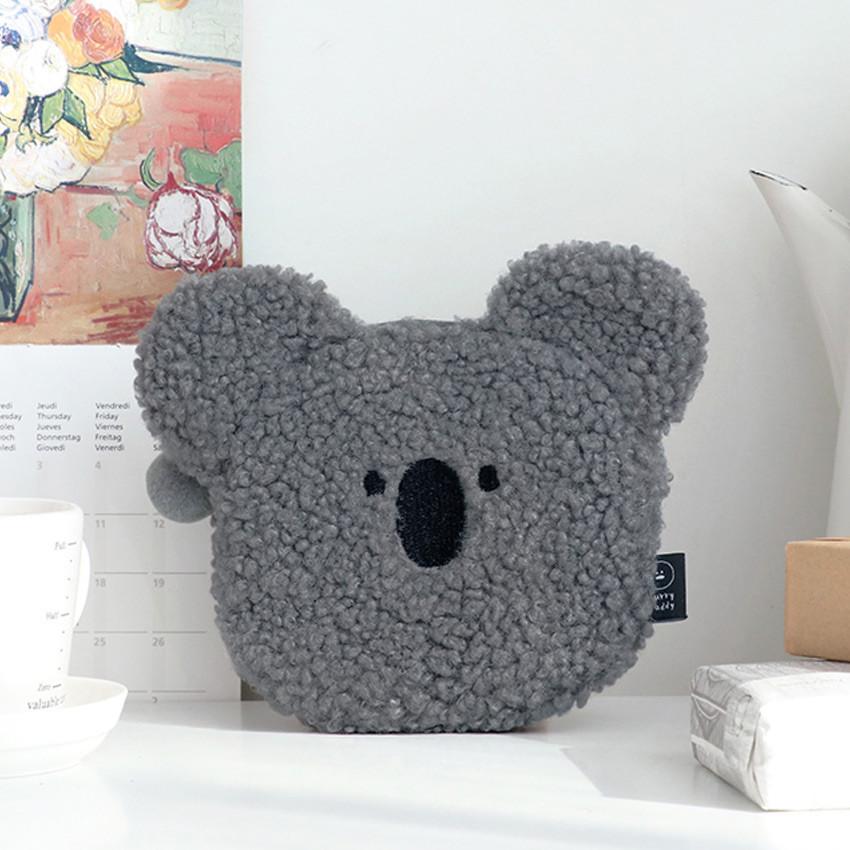 Koala - Iconic Furry buddy flat zipper pouch