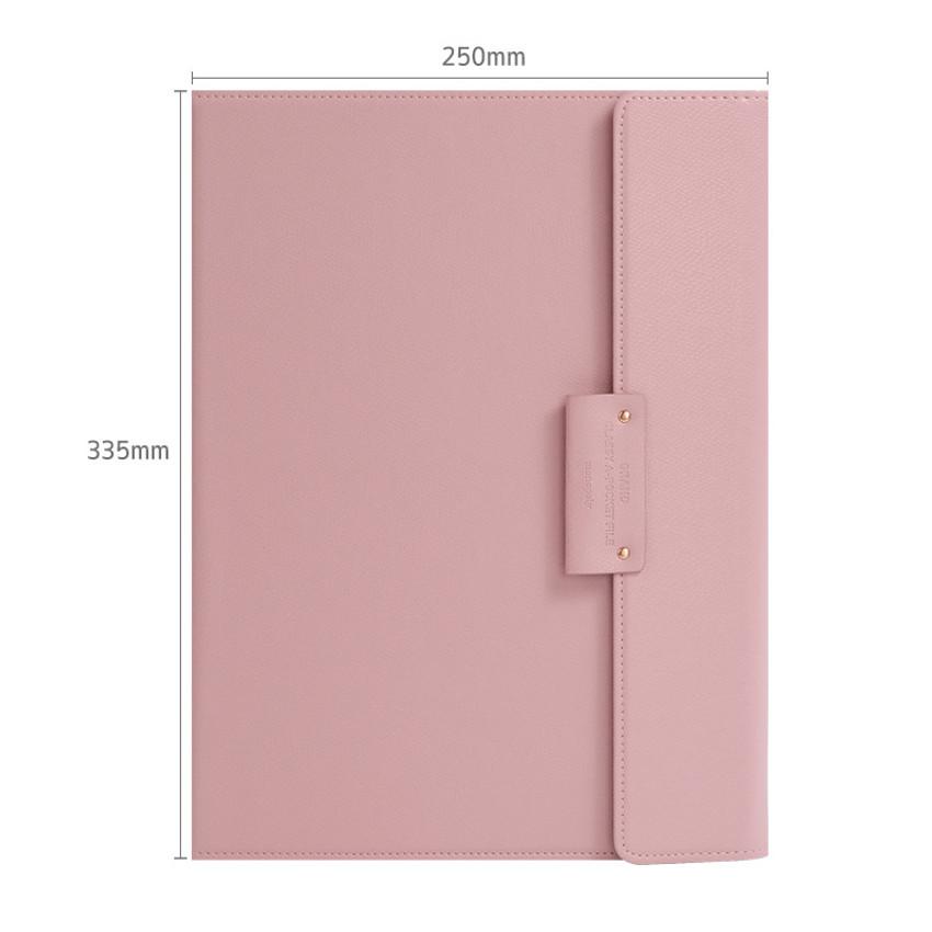 Size - Monopoly Grand new classy A-pocket file folder pouch bag
