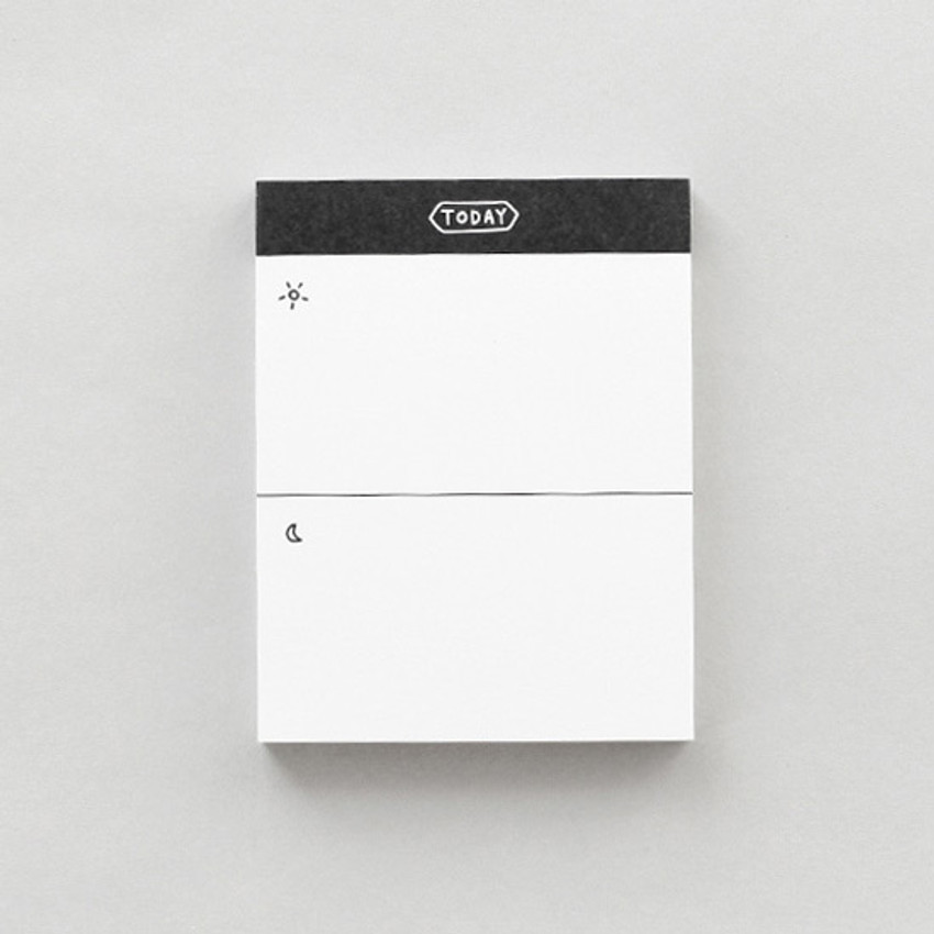 Today - 2NUL Drawing memo checklist weekly plan notes notepad