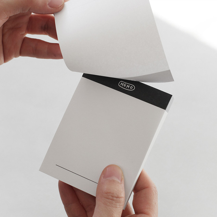 Easy tear off - 2NUL Drawing memo checklist weekly plan notes notepad
