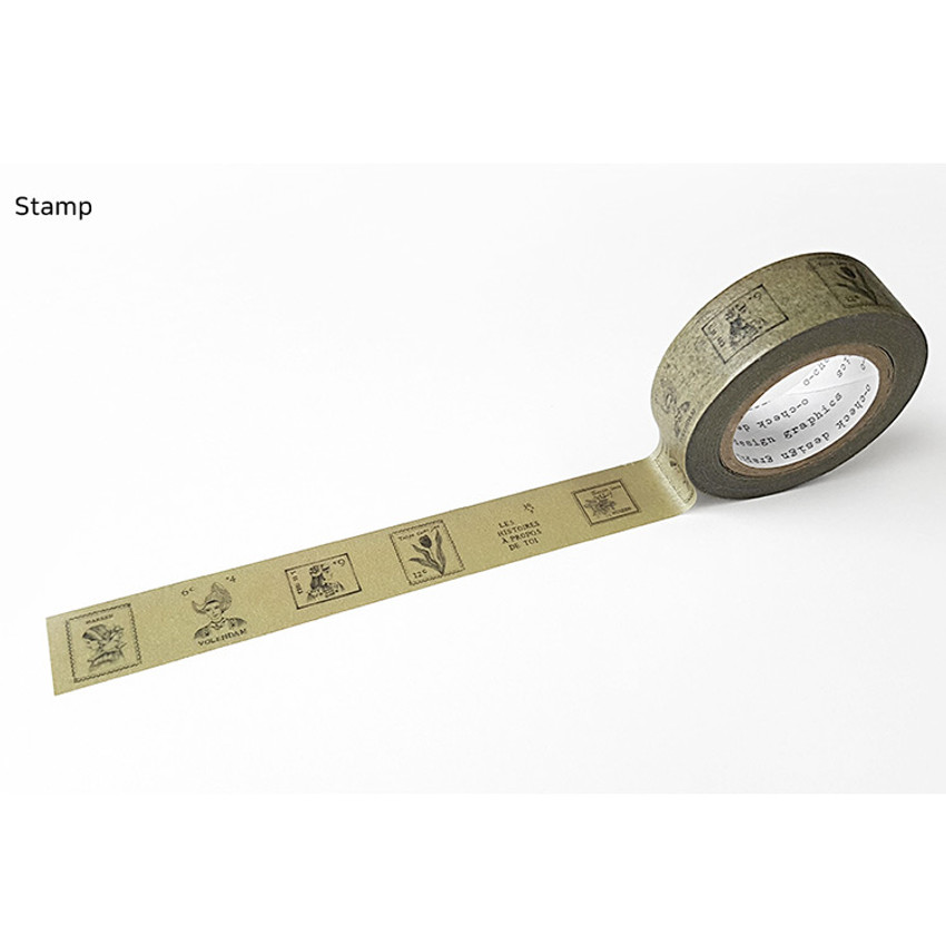Stamp - O-CHECK Vintage decorative craft 15mm X 10m masking tape