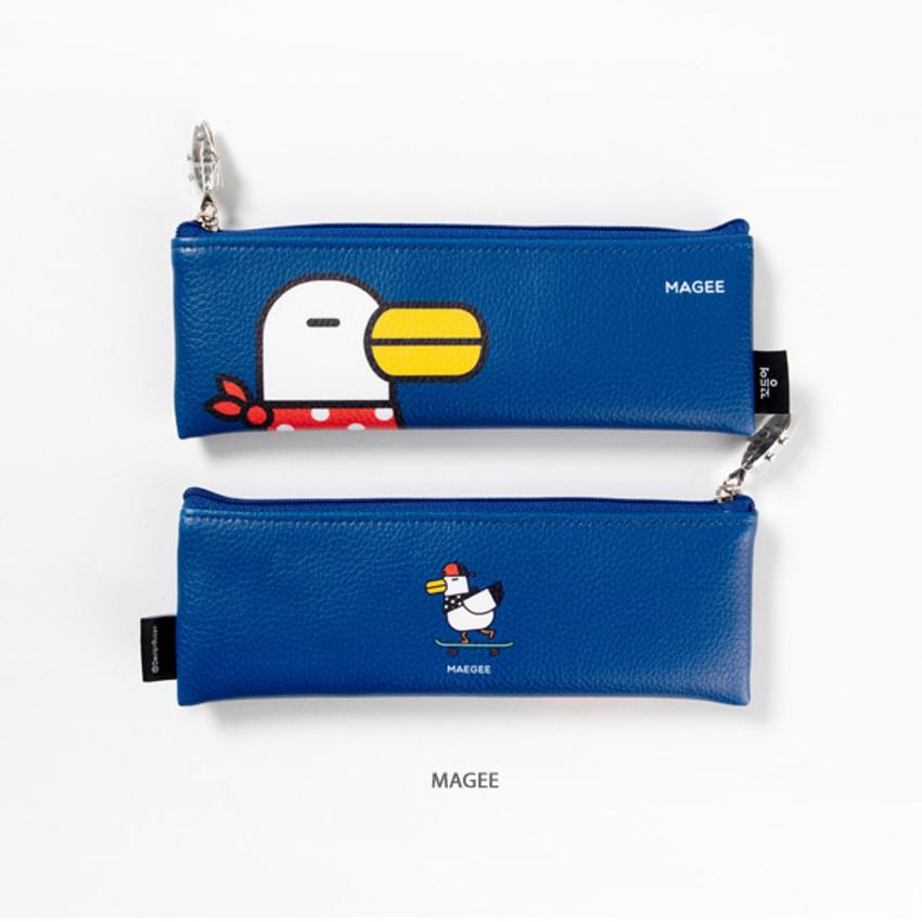 Magee - DESIGN IVY Ggo deung o friends zipper pencil case ver2
