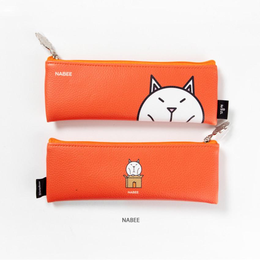 Nabee - DESIGN IVY Ggo deung o friends zipper pencil case ver2