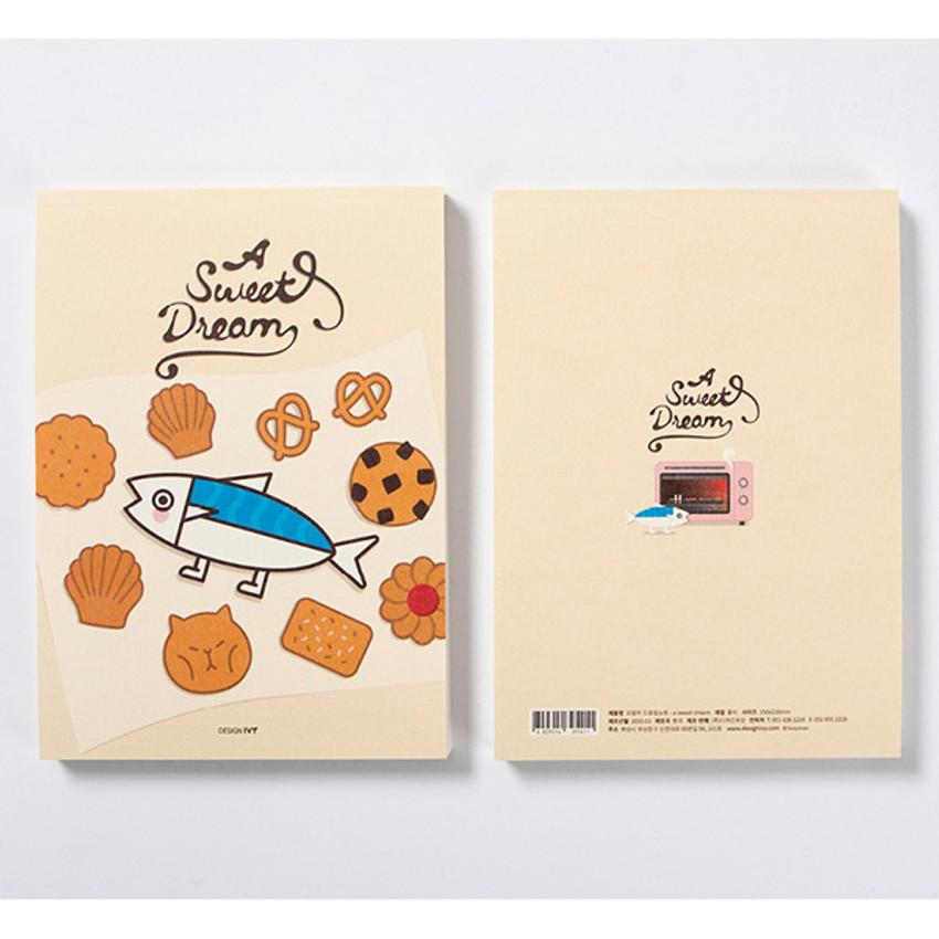 DESIGN IVY Ggo deung o drawing blank notebook notepad ver2