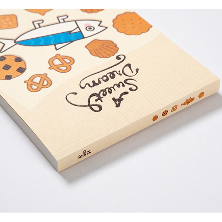Detail of DESIGN IVY Ggo deung o drawing blank notebook notepad ver2