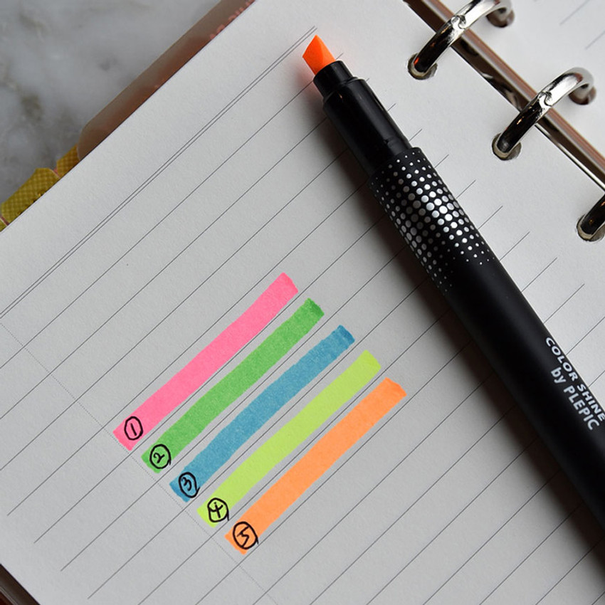 Color - Play Obje Shine color neon pen highlighter