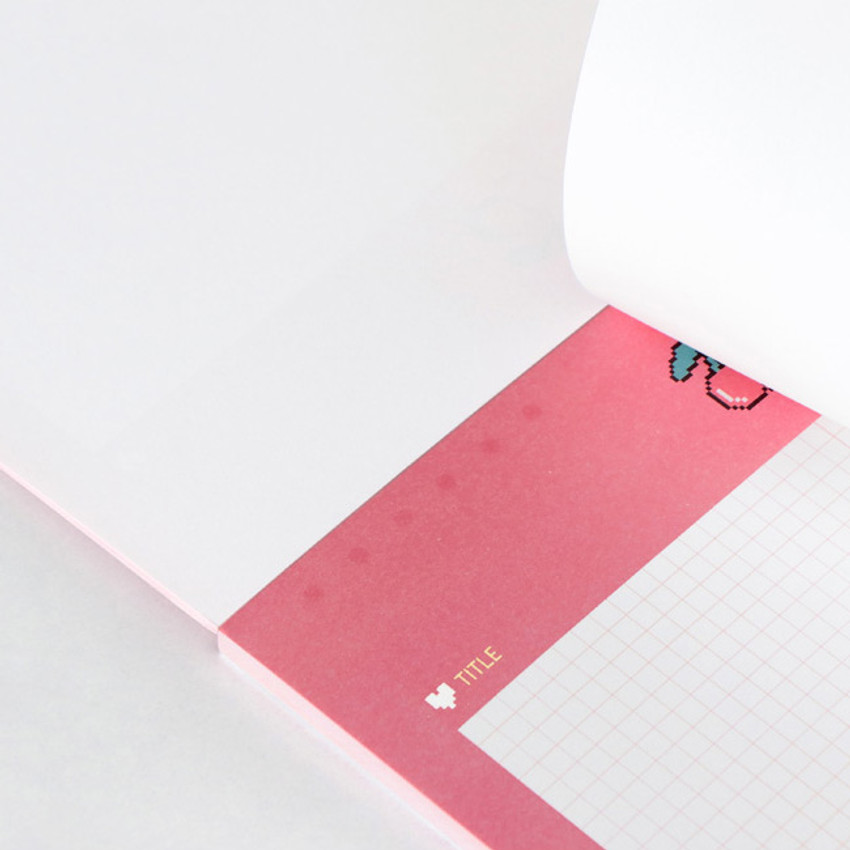 Easy tear off - ICONIC Sweet B5 size grid notes memo notepad