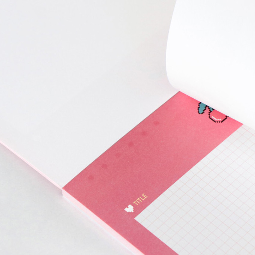 Easy tear off - ICONIC Haru B5 size grid notes memo notepad