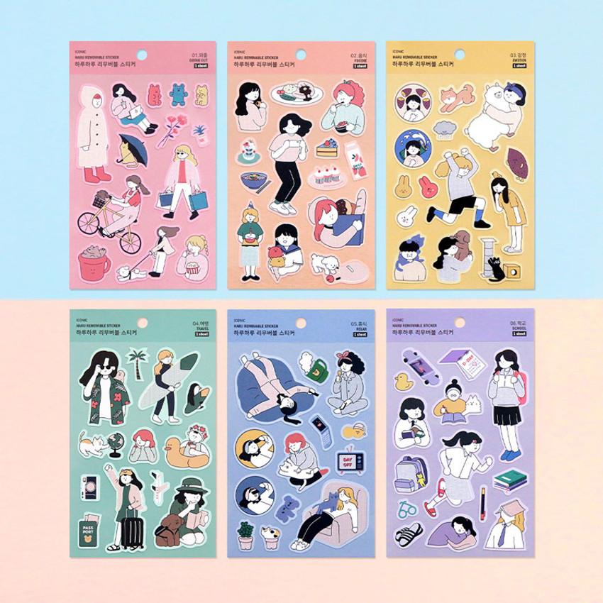 ICONIC Haru removable craft decoration sticker