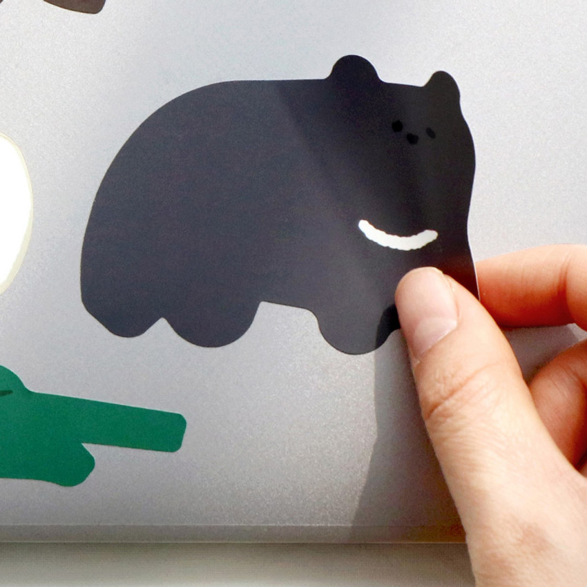 Removable stickers - ICONIC Big point removable craft decoration sticker