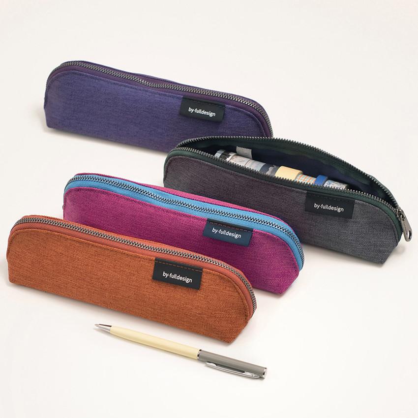 Byfulldesign Tiny but Big triangle zipper pencil case