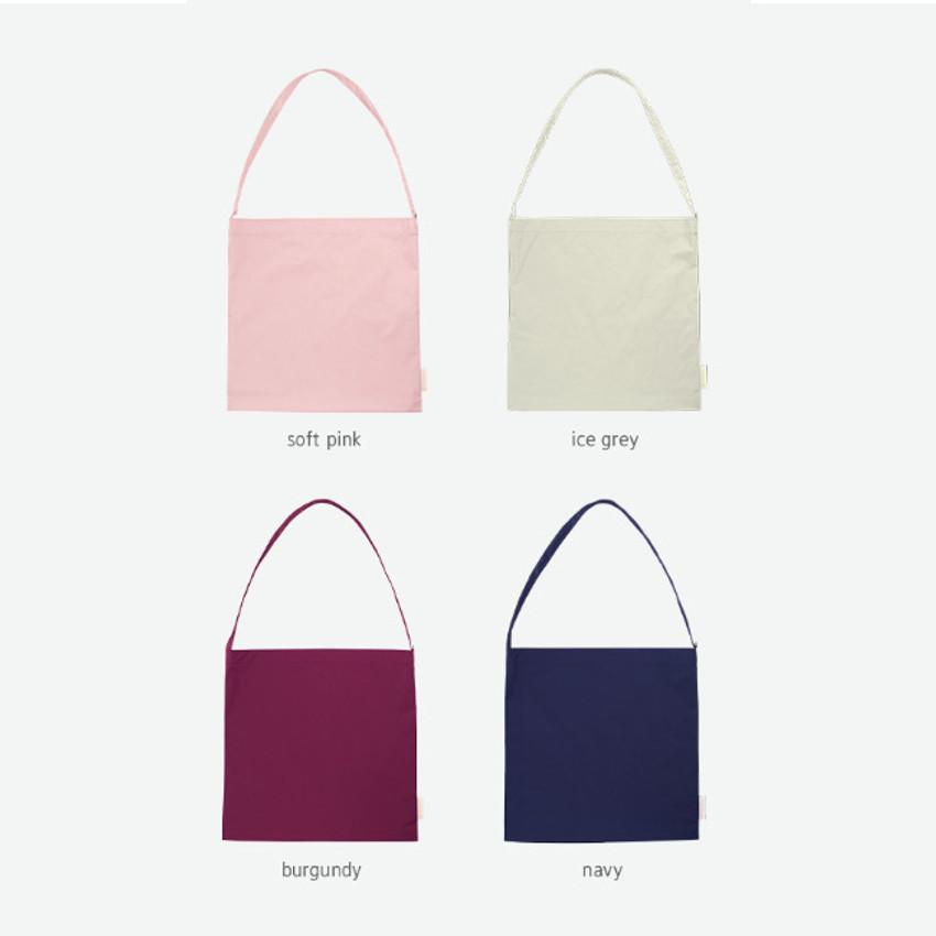 Color - Byfulldesign Light daily large shoulder bag