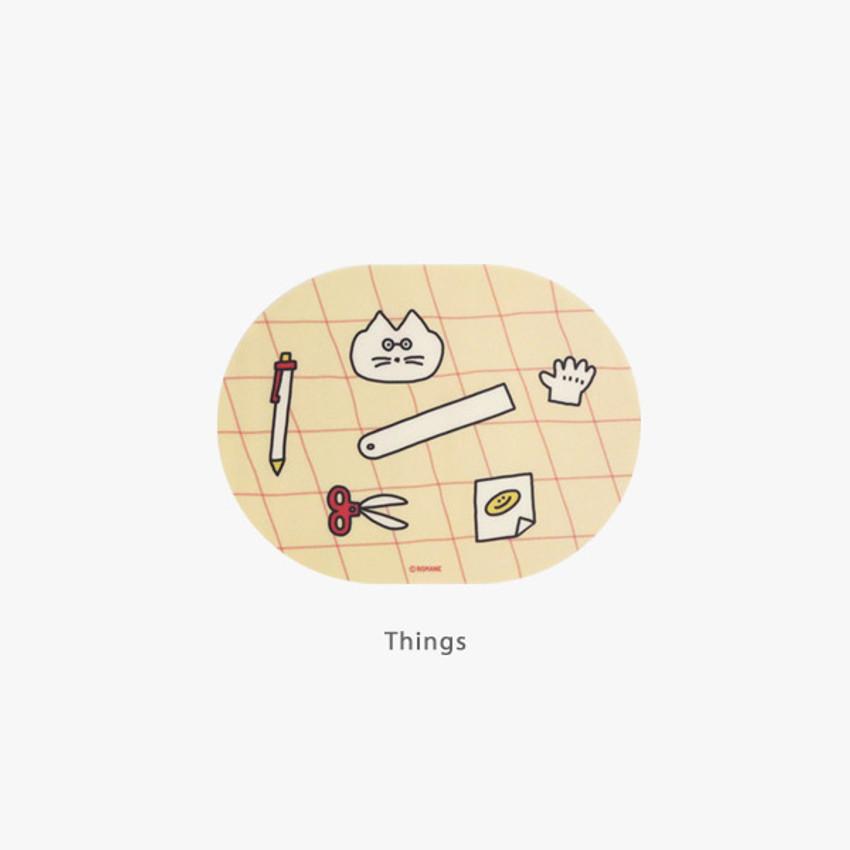 Things - ROMANE Donat Donat desk mouse pad