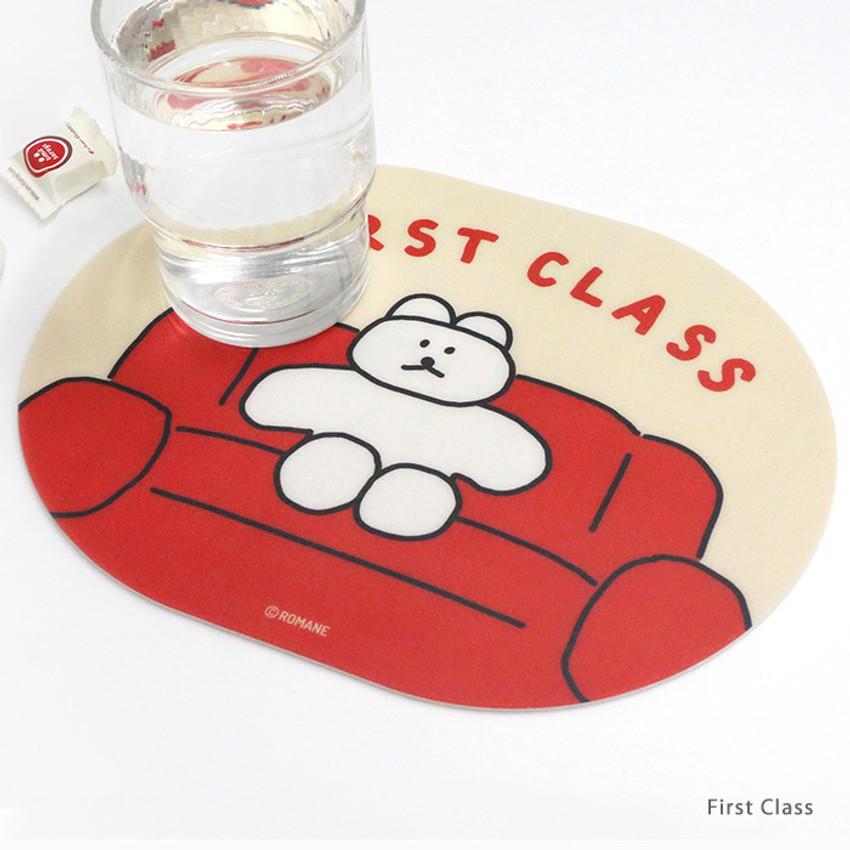 First Class - ROMANE Donat Donat desk mouse pad