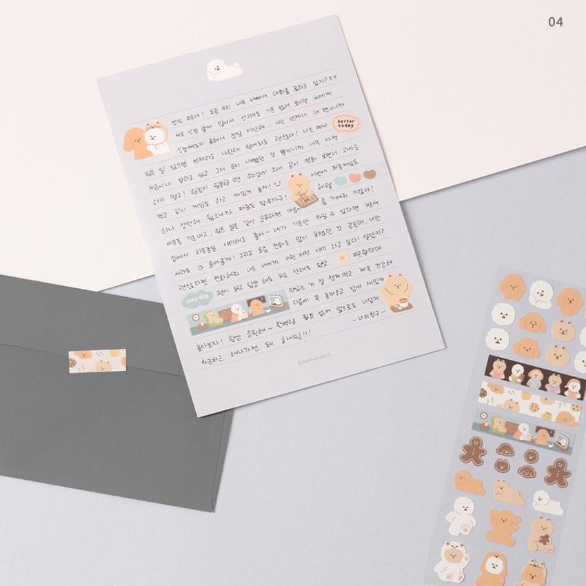 04 - Dash And Dot Mongle Mongle removable sticker seal