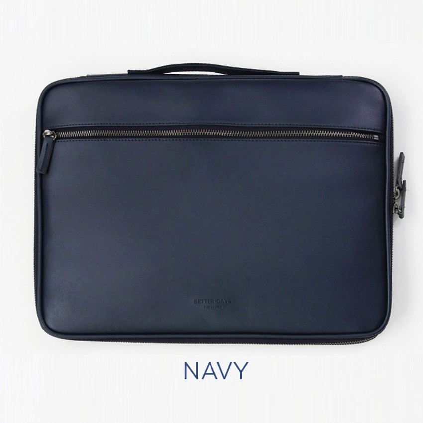 Navy - GMZ The Memo 13 inches laptop PC sleeve pouch case
